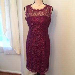 Simply liliana lace dress size 8
